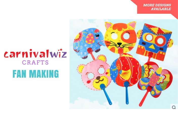 adults and kids carnival diy activity
