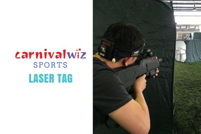 team building laser tag rental