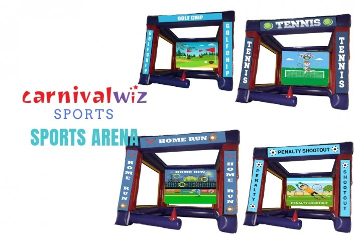 carnival funfair themed game booth rental