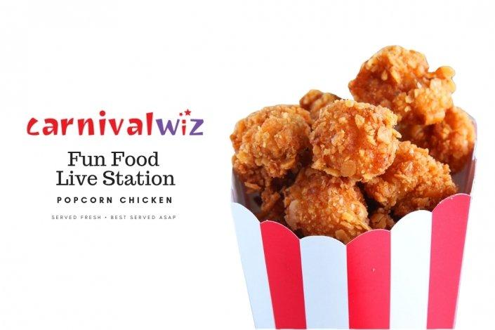 Carnival Fun Fair Food and snacks