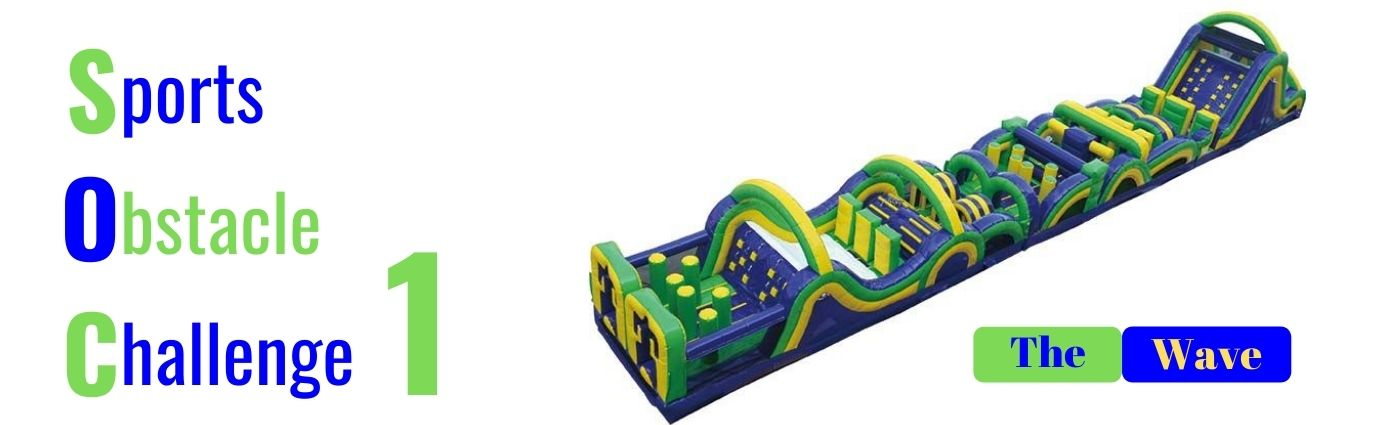 Inflatable obstacle course SOC Carnival Wiz