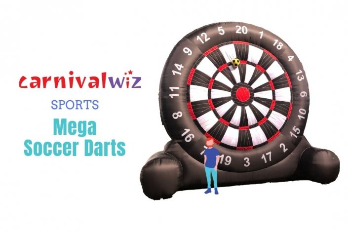 Giant sports dart game incorporated with football Singapore