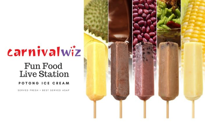 pasar malam traditional snack potong ice cream live carnival fun food station singapore