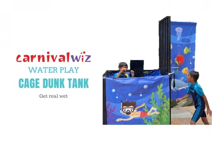 Dunking machine rental water system for rent or hire in Singapore Team Building and Carnival
