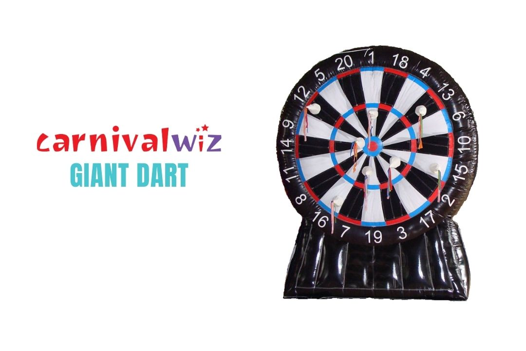 Giant Dart Board Inflatable for rent or hire in Singapore Team Building and Carnival