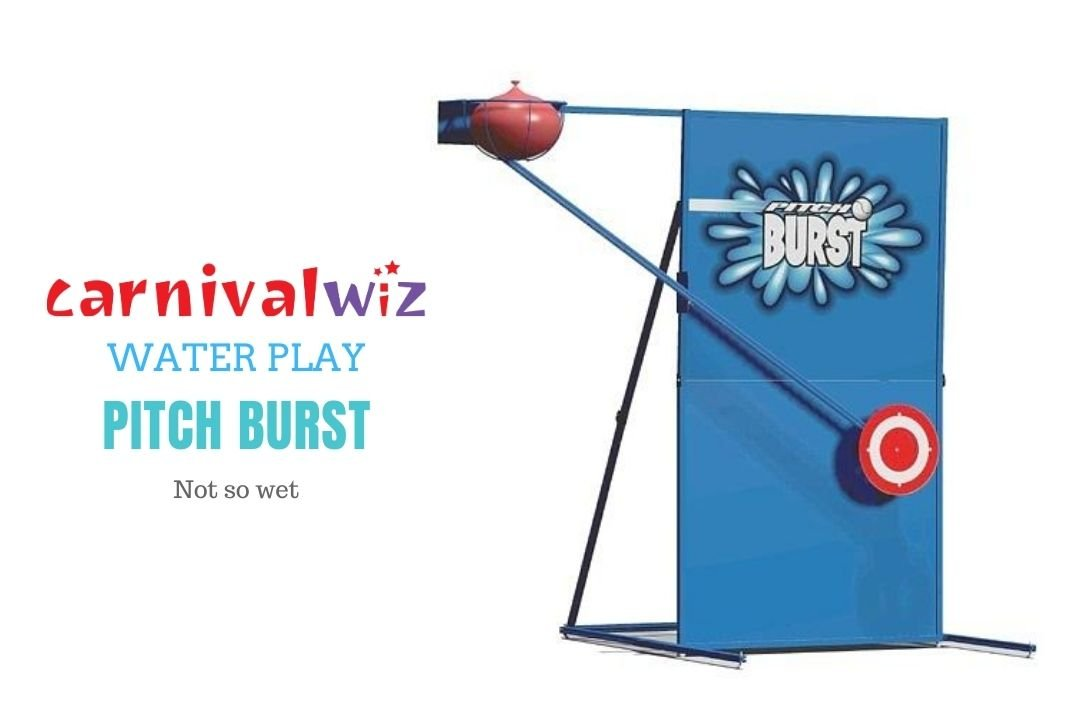 Pitch Burst Water System for rent or hire in Singapore team building or carnival
