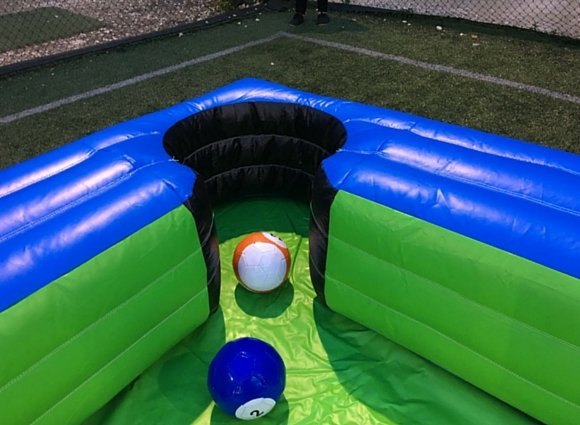 Snookball inflatable 8 ball giant poolball rental singapore