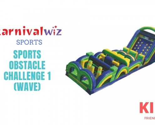 Jumbo sized sports inflatable obstacle course rental cum bouncy castle ideal for carnival and team building events for rent or hire in singapore