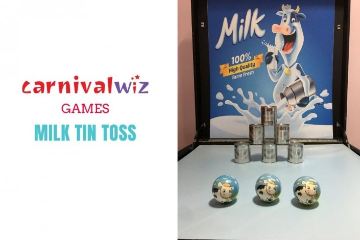 fun fair tin tossing and throwing carnival style fun booth for event rental singapore