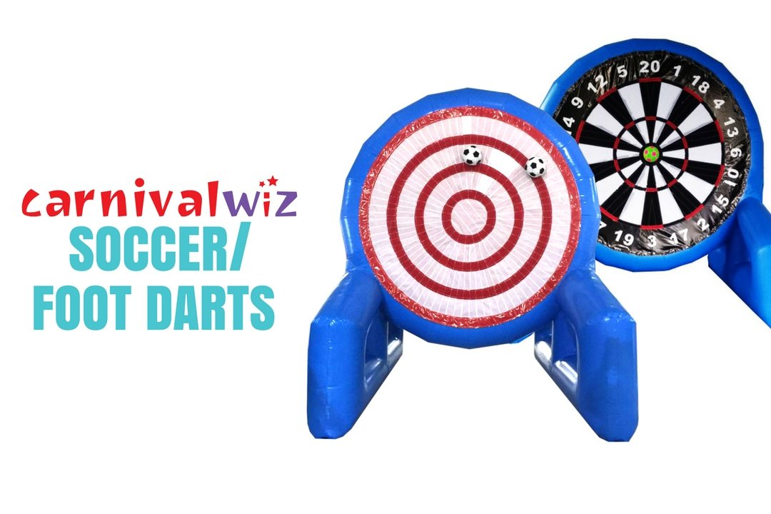 Giant dart board soccer rental Singapore for carnival, events and parties in Singapore