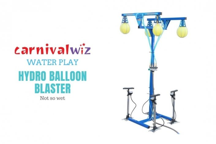 water play balloon bursting carnival game activity for schools and institutions