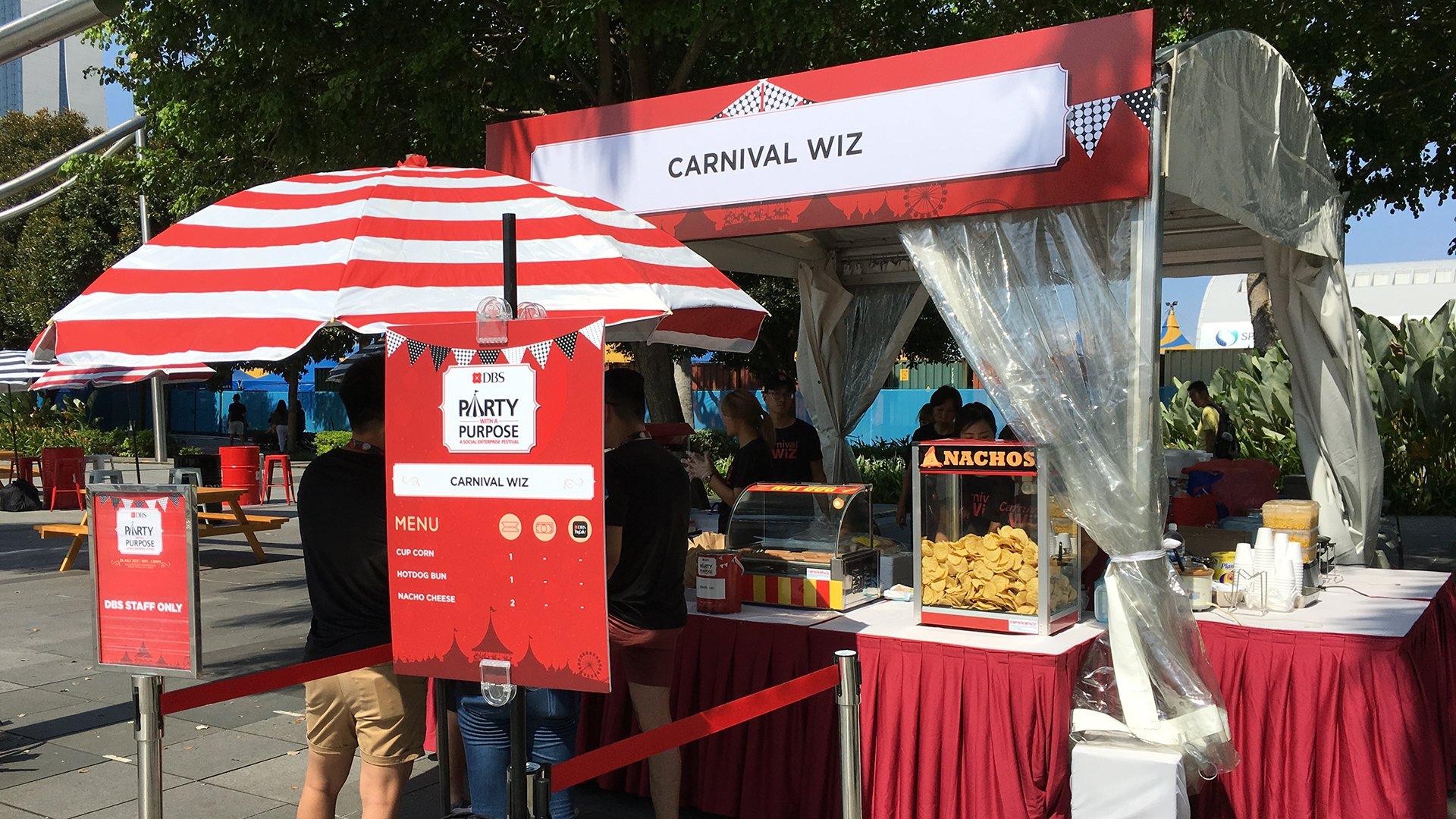 tortilla nacho salsa fun fair carnival style pasar malam hawker