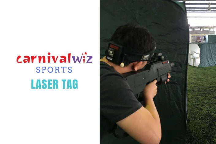 team building laser tag rental
