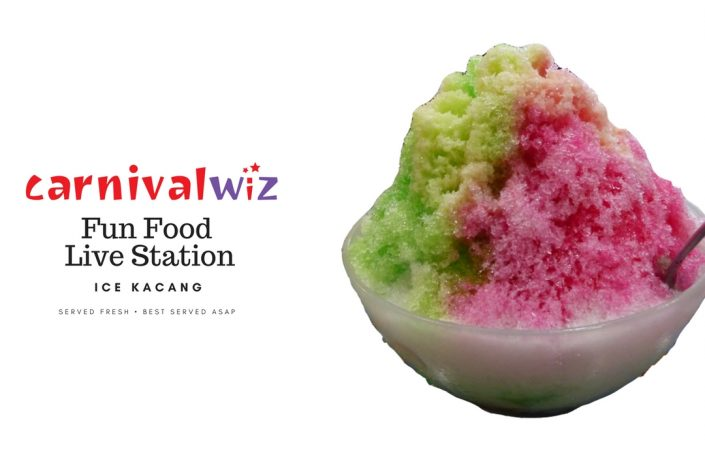 traditional ice kacang carnival pasar malam fun fair food and drinks street hawker style