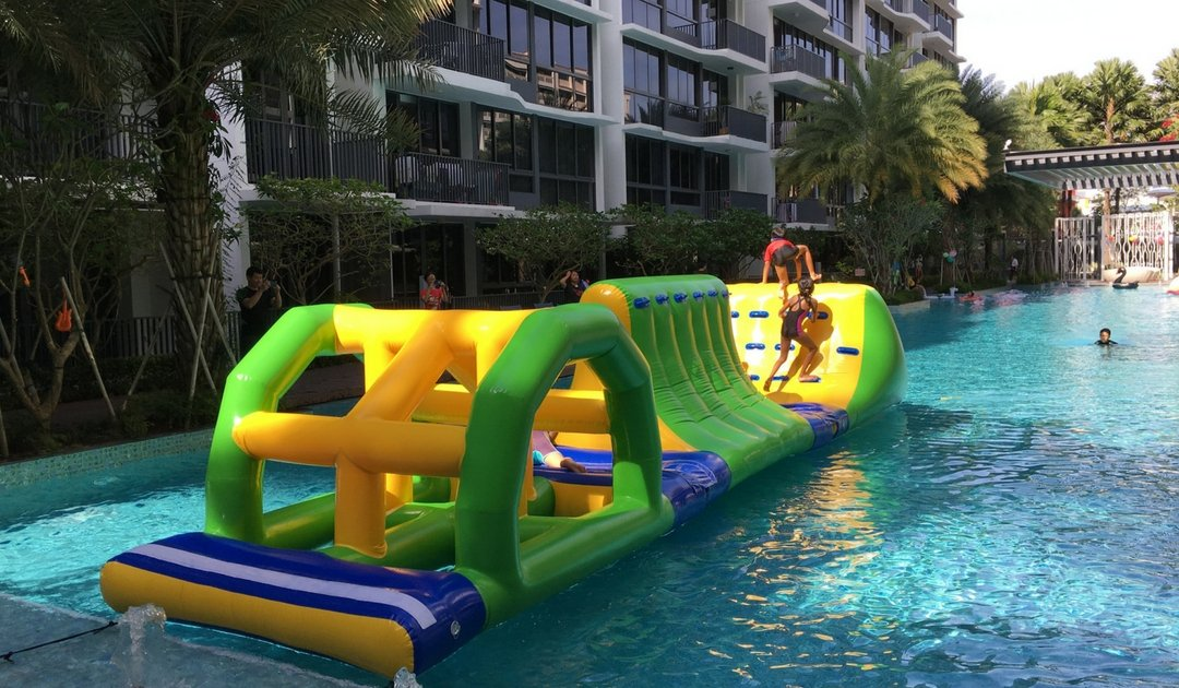floats rental in swimming pool singapore