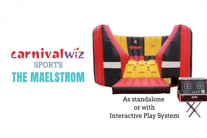 Carnival interactive game inflatable for rent with interactive play system