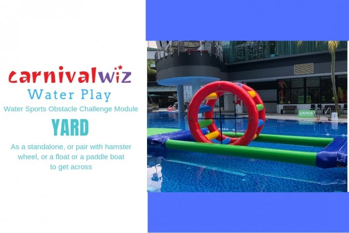 water carnival pool floats rental singapore