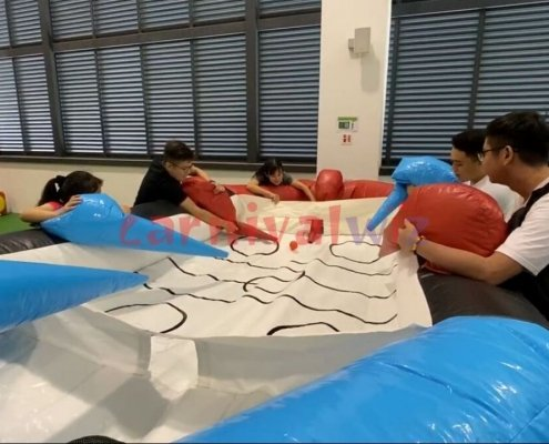 inflatable air hockey for rent singapore