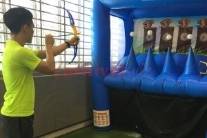 hover ball archery inflatable for rent singapore