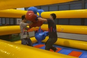 boxing ring inflatable rental singapore