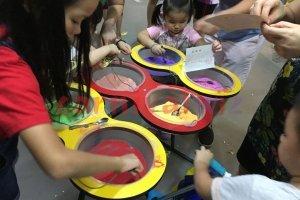 art and craft sand art singapore