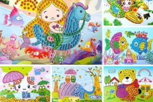 crystal mosaic art and craft for kids singapore