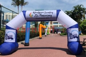 iCustomizable inflatable arch rental Singapore