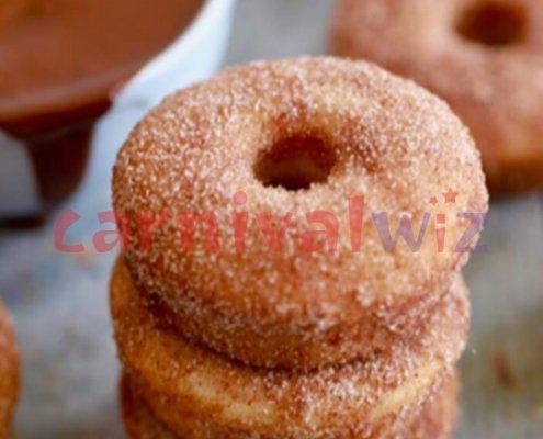 Pasar malam fun fair carnival snack live stall vendors doughnut