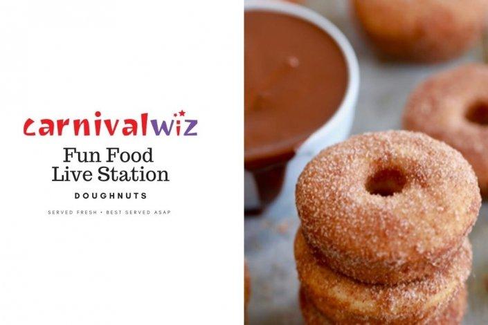 pasar malam carnival live food station stall