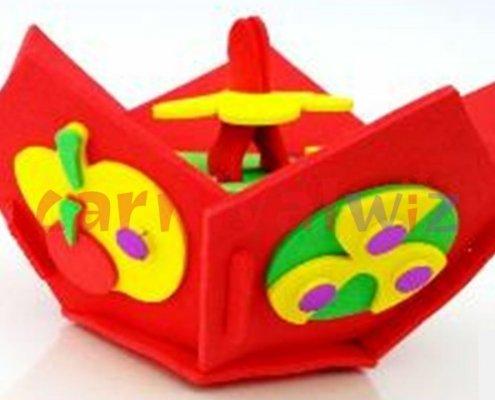 foam fruit holder art and craft for kids singapore