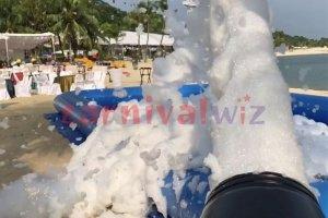 foam pool party rental singapore
