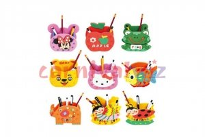 pencil holder making art and craft singapore