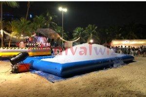 foam pool for rent singapore