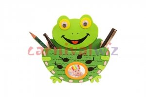 foam pencil holder making for kids art and craft singapore