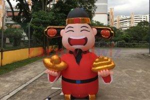 god of fortune dancing tube rental singapore