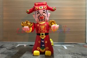 inflatable god of fortune c air dancer rental singapore
