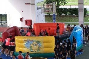 hippo chow down inflatable for rent singapore