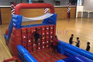 inflatable rock climbing for rent singapore
