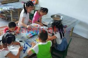 fan colouring art and craft singapore