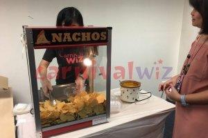 Pasar malam fun fair carnival snack live stall vendors nachos cheese