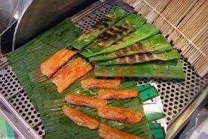 Pasar malam fun fair carnival snack live stall vendors otah