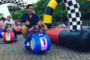 Inflatable Race track for rent singapore