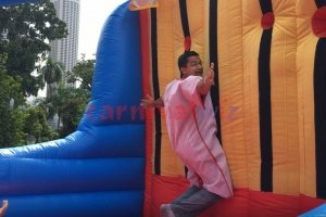 sticky wall inflatable rental singapore