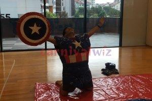 superhero showdown rental singapore