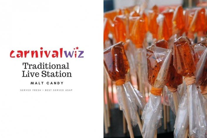 Pasar malam fun fair carnival snack live stall vendors malt candy