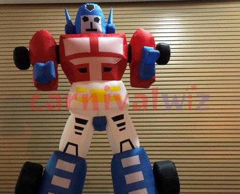 optimus prime robot air dancer rental singapore
