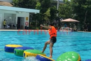 water stepping stone inflatable rental singapore