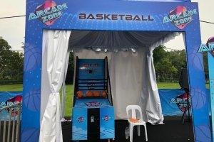 basketball machine rental