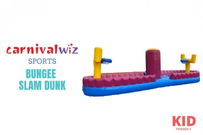 bungee slam and dunk inflatable rental singapore
