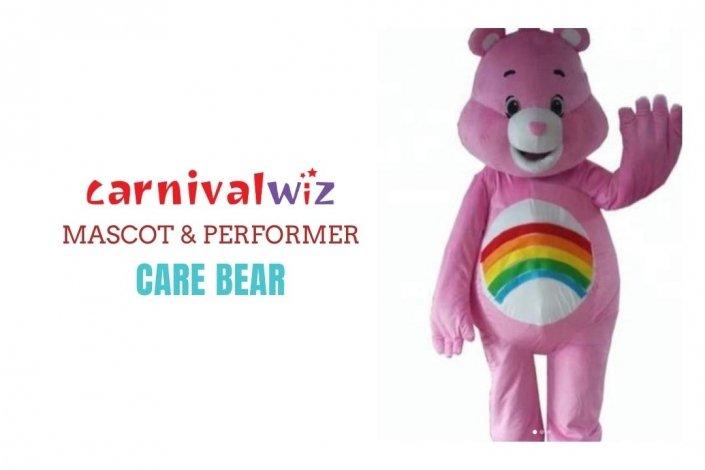 Care Bear Mascot Costume carnival Classic cartoon Character Fancy Dress Cartoon Suit rental singapore